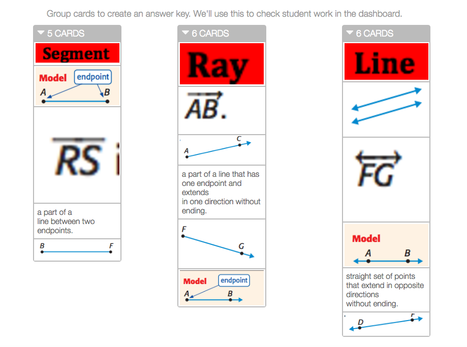 Segment Line Ray Symbols Discovery Activity Builder By Desmos