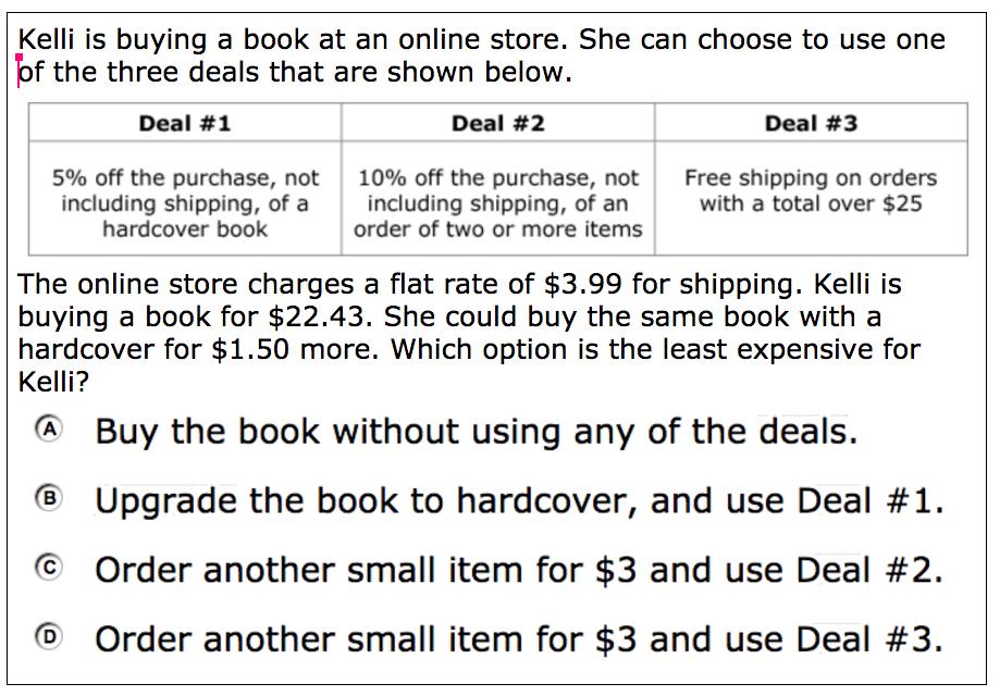 kelli orders books online activity builder by desmos