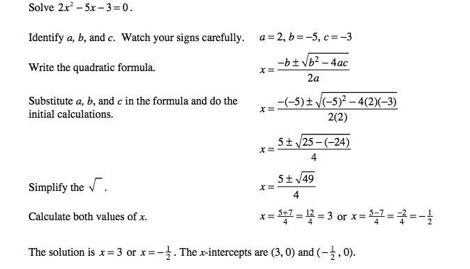quadratic formula activity builder by desmos
