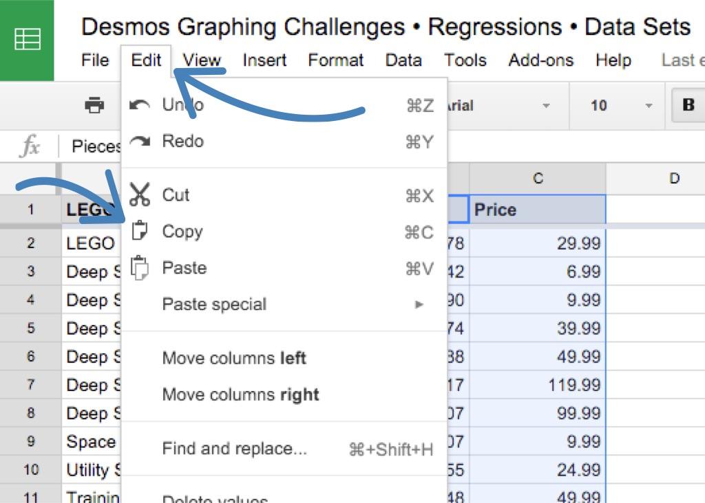Learn: Regressions • Activity Builder by Desmos